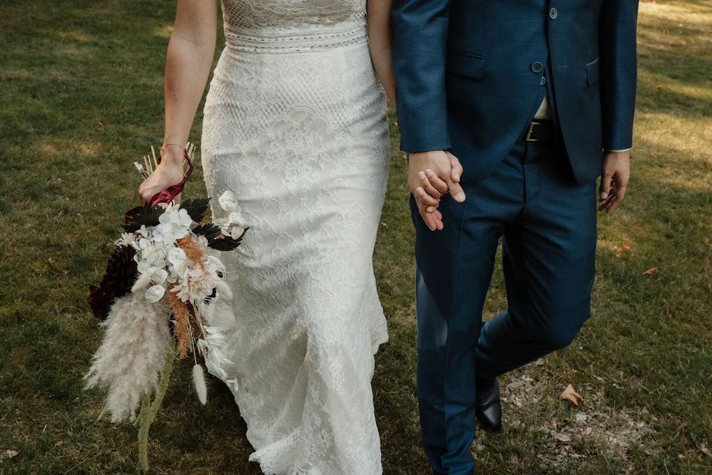 Gedroogde bloemen Wedding